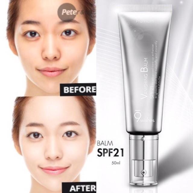 9wishes - Kem dưỡng trắng 9 wishes Vanishing Balm Premium SPF 21 | Shopee  Việt Nam