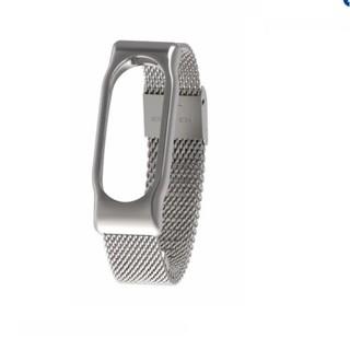 [Mã ELFLASH5 giảm 20K đơn 50K] Dây đeo thay thế thép Stainless Steel dành cho Miband 2