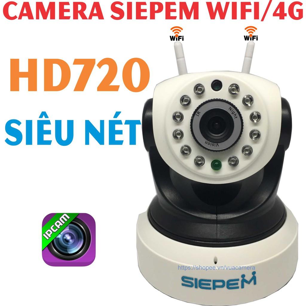 [Rẻ nhất shopee] Camera IP Siepem S6203 pro - 2 anten