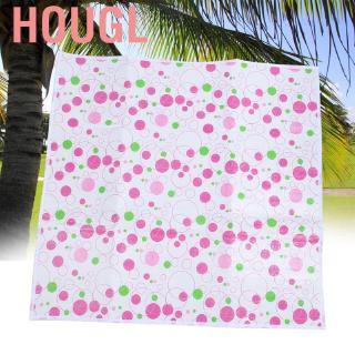 Hougl Pink Waterproof Non-Slip Circle Baby Floor Mat Crawling rawl Cushion