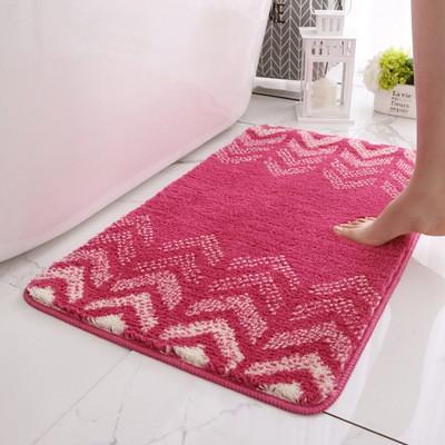 Thảm lau chân, thảm nhà tắm, thảm chùi chân thấm hút nước tốt, chống trơn trượt