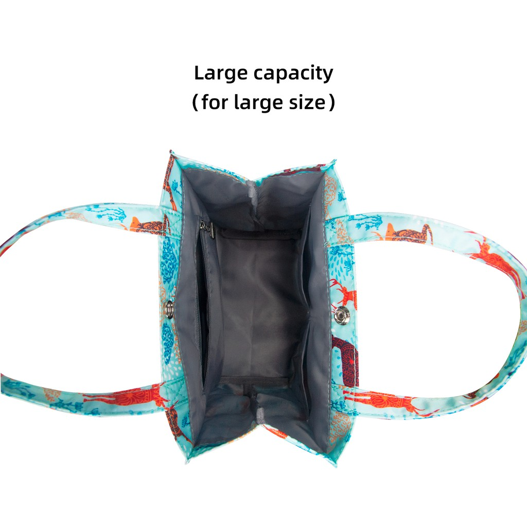 Túi đựng cơm trưa cỡ lớn chống nước tiện lợi
