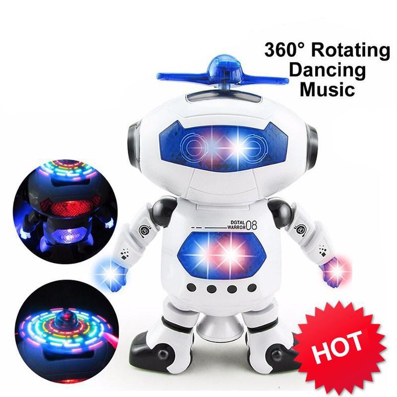 [SẬP GIÁ SỈ = LẺ] - Đồ chơi Robot thông minh nhảy múa hát xoay 360 độ(Nhiều màu)