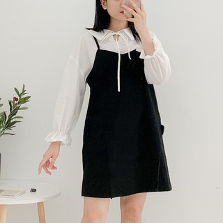 Váy Yếm thiết kế buộc nơ sau Friday thumbnail