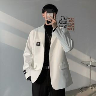 Áo vest blazer phong cách Hàn Quốc mới nhất 2 màu đen trắng