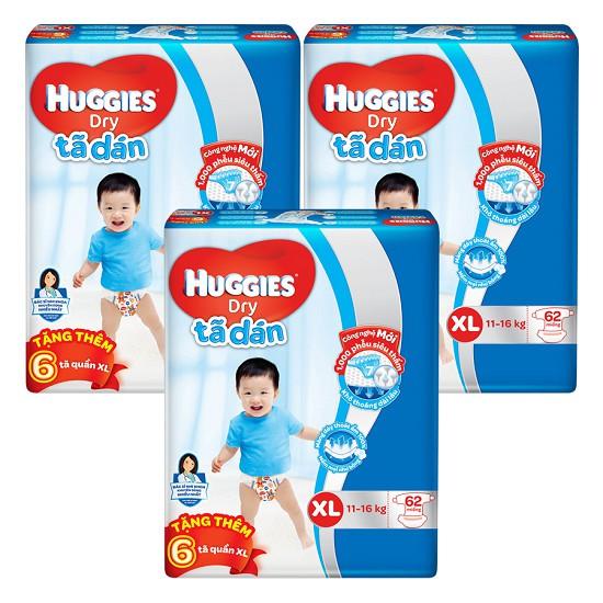 Tã dán Huggies XL62 mẫu mới ( có tặng 6 miếng tã quần ) - 2560886 , 902451714 , 322_902451714 , 244000 , Ta-dan-Huggies-XL62-mau-moi-co-tang-6-mieng-ta-quan--322_902451714 , shopee.vn , Tã dán Huggies XL62 mẫu mới ( có tặng 6 miếng tã quần )