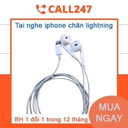 [ BH 1 Đổi 1 ] Tai Nghe Ip Chân Lightning  Kêt Nối Tự Động Tương Thích Iphone 7 /8/ X/11PROMAX
