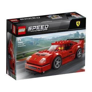 LEGOLego Xếp Hình Khối Xây Dựng75890Loạt Đua FerrariF40Cậu Bé Lắp Ráp Đồ Chơi Trong Xe Ô Tô 包邮 KbXe
