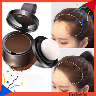 CODseller Hairline Powder Non-sticky Natural Synthetic Quick Cover  Hair Line Powder for Girl
