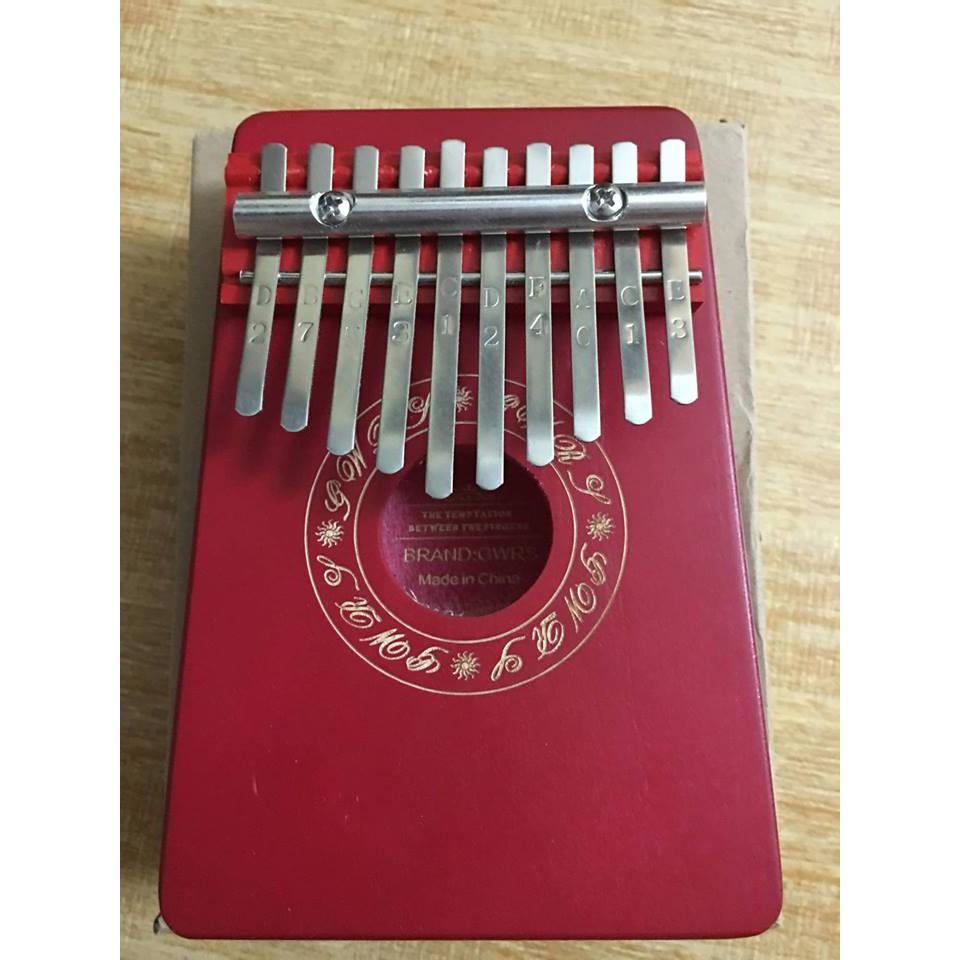 Đàn Kalimba 10 Phím K10B (Gỗ Tròn chữ - Mbira Thumb Finger Piano 10 Keys)