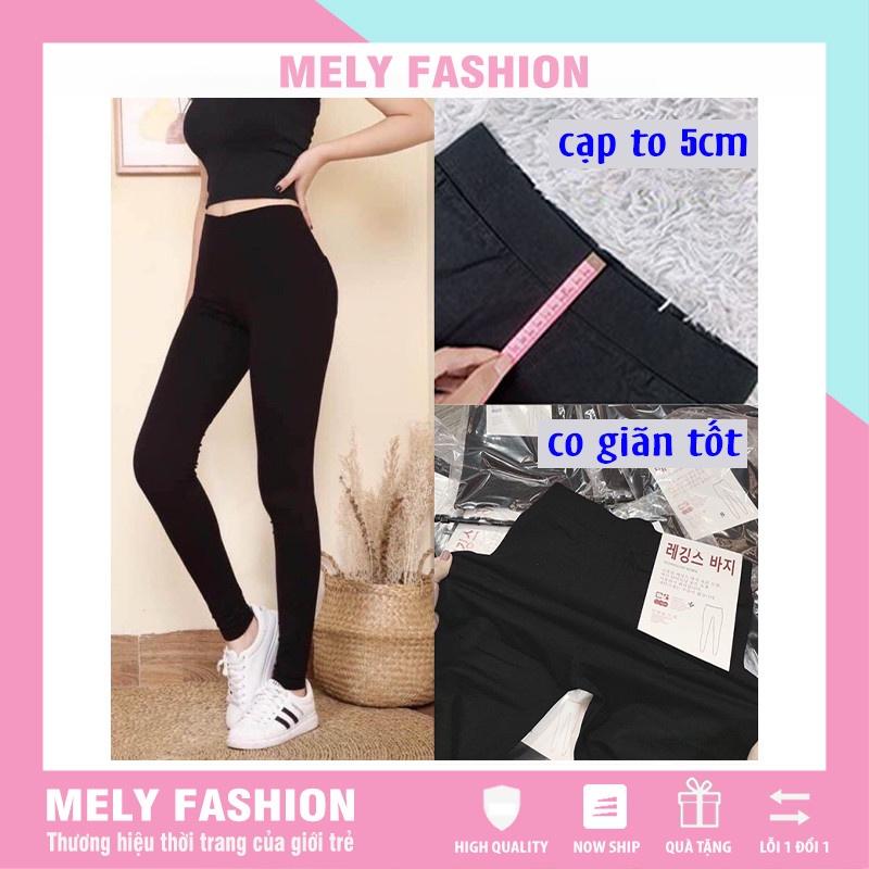 Mặc gì đẹp: Thoáng mát với Quần legging hàn nữ cao cấp cạp cao tập gym yoga co giãn 4 chiều loại 1 vô cùng tôn dáng Mely Fashion QD07