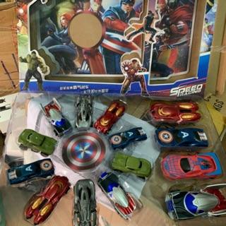 Sét 14 xe siêu nhân anh hùng cho bé yêu mới siêu hót