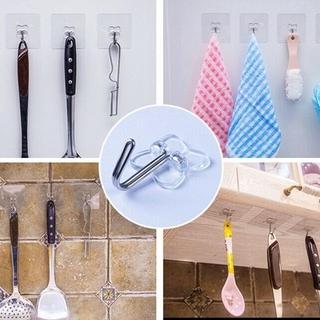 Móc Treo Đồ Dán Tường Không Để Lại Dấu Vết Tiện Dụng Cho Nhà Bếp Phòng Tắm 3
