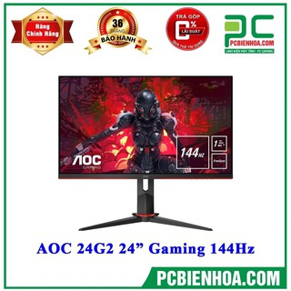 Màn Hình Gaming AOC 24G2 – 144hz, 1ms, IPS, AMD FreeSync