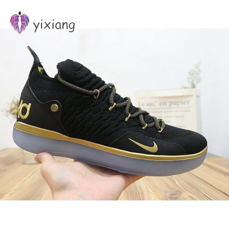 KSK@ Nike Zoom KD 11 SP Durant 11 generation Oreo all-star รองเท้าผ้าใบลำลอง