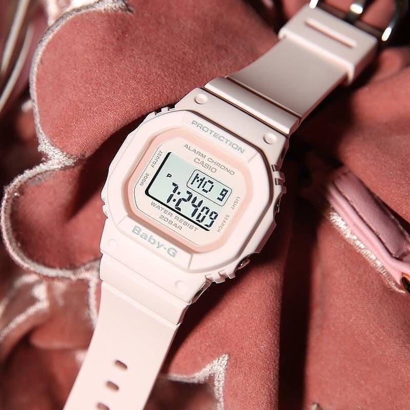 Đồng hồ dây nhựa Casio Baby-G Nữ BGD-560-4 chính hãng bảo hành 5 năm Pin trọn đời