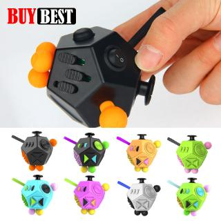 Fidget Cube 2 Anxiety Stress Relief Focus Toy Gift for Adults & Kids Stress Relief Toy Fidget Cube