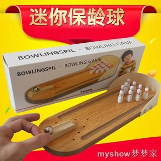 Bộ Đồ Chơi Bowling Mini Bằng Gỗ Cho Bé