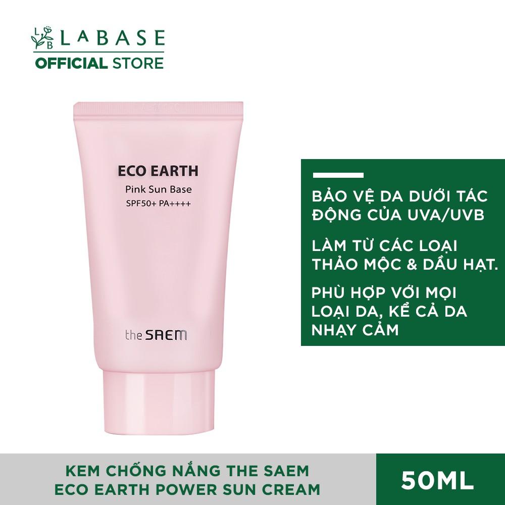 [Mã COSHOT25 giảm 10% đơn 350K] [ MẪU 2020] Kem Chống Nắng The Saem Eco Earth Power Sun Cream