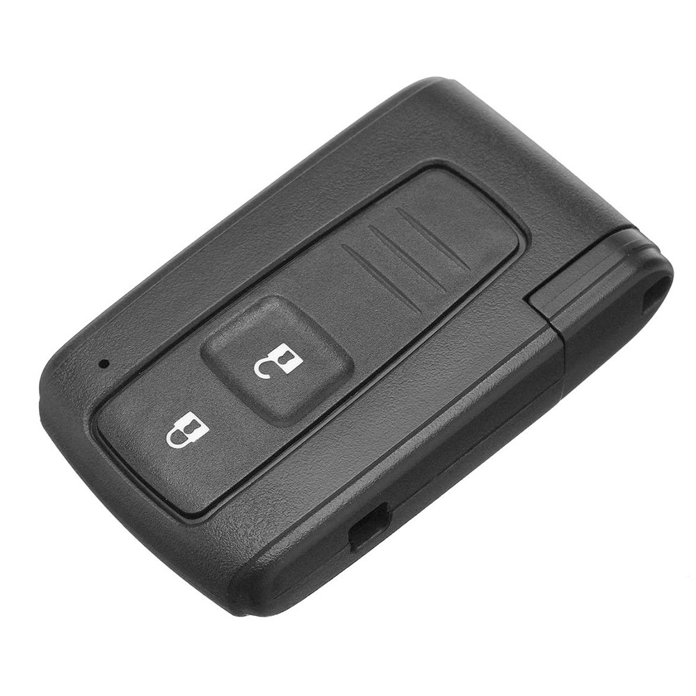 2 Button Remote Durable Key Shell Fob Case ABS Compact Switch Battery Auto For Toyota Corolla Verso Prius