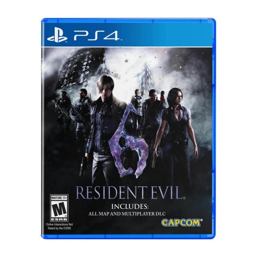 Đĩa game Biohazard 6 (Resident Evil 6) PS4