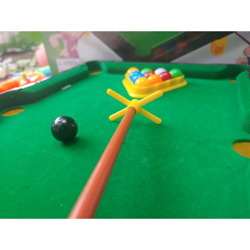 Bàn Bi a Mini BoBa Store Bida Mini giá rẻ cho trẻ em và người lớn, Mặt bàn Nỉ
