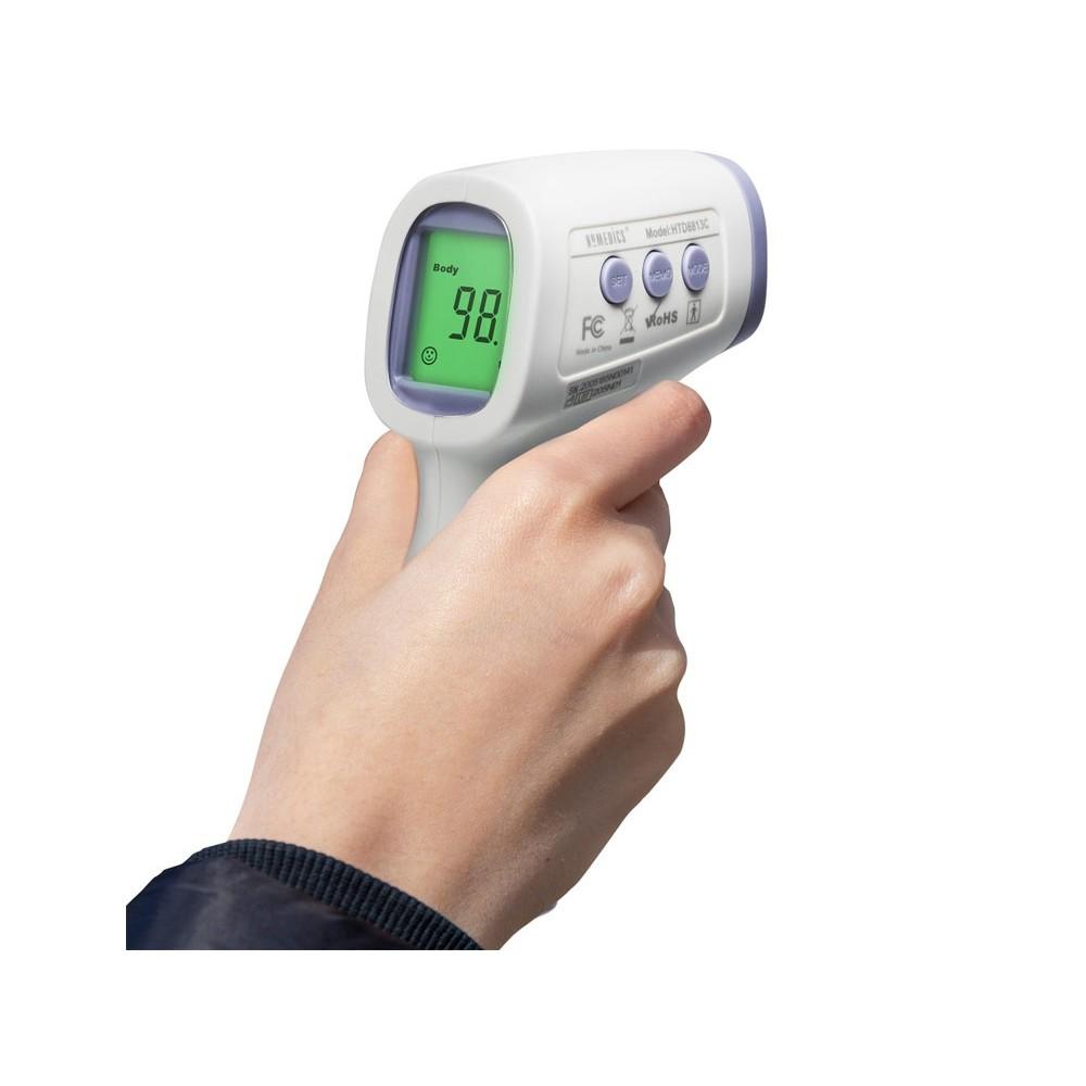 Nhiệt Kế Hồng Ngoại Không Tiếp Xúc USA Chứng Nhận FDA Hoa Kỳ HoMedics TIE-240
