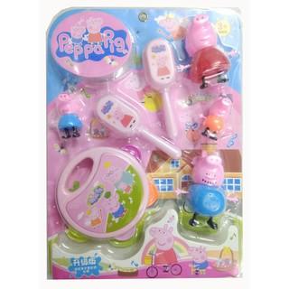 Bộ xúc xắc nhà Peppa Pig cho trẻ sơ sinh