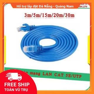Dây cáp mạng LAN CAT 5E/UTP 3m/5m/15m/20m/30m
