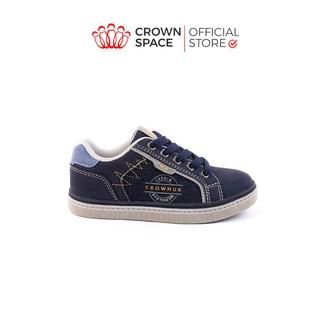 Giày Sneaker Cho Bé Đi Chính Hãng Crown UK CRUK213 Nhẹ Êm Size 28-37/2-16 Tuổi