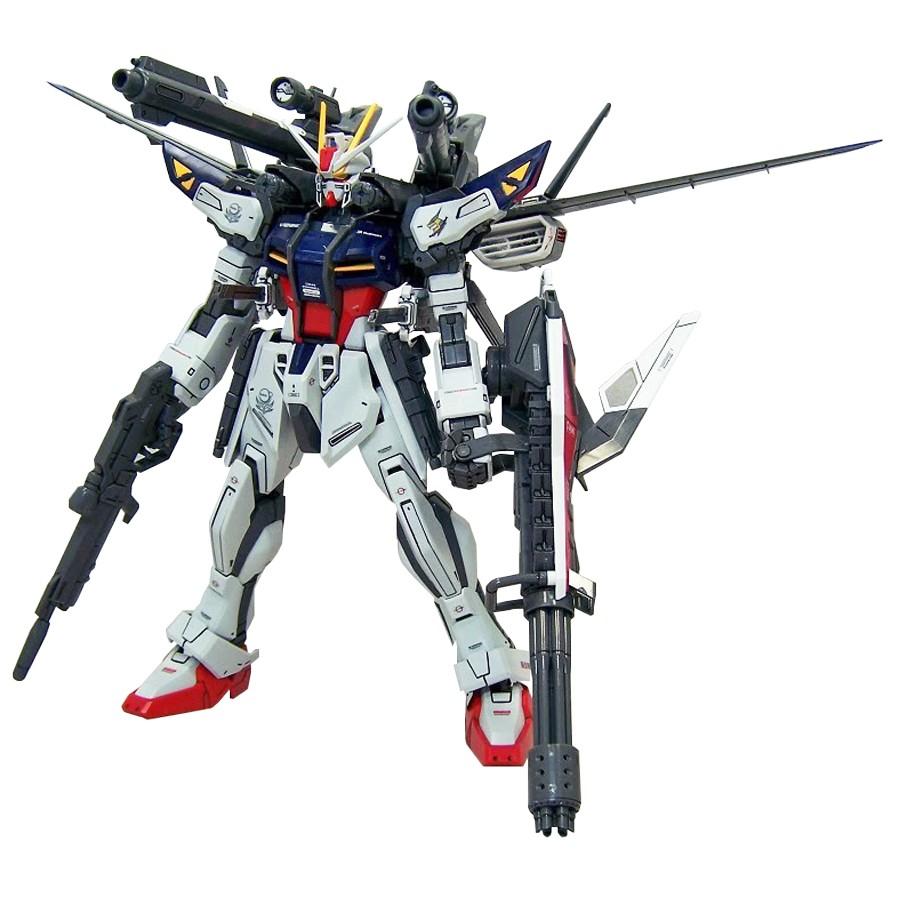 Mô Hình Lắp Ráp Bandai MG Gundam GAT-X105E Strike E + IWSP