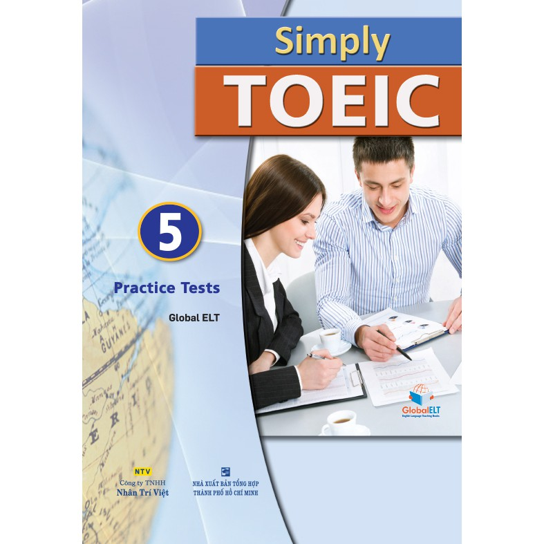 Simply TOEIC: 5 Practice Tests (kèm CD)