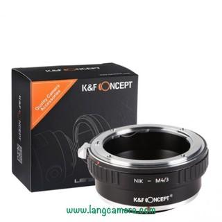 Ngàmm chuyển ống kính AI-M4/3 hiệu K&F Concept