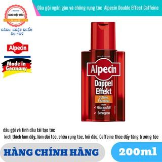 Dầu gội ngăn gàu và chống rụng tóc cho nam Alpecin Double Effect Caffeine Đức 200ml thumbnail