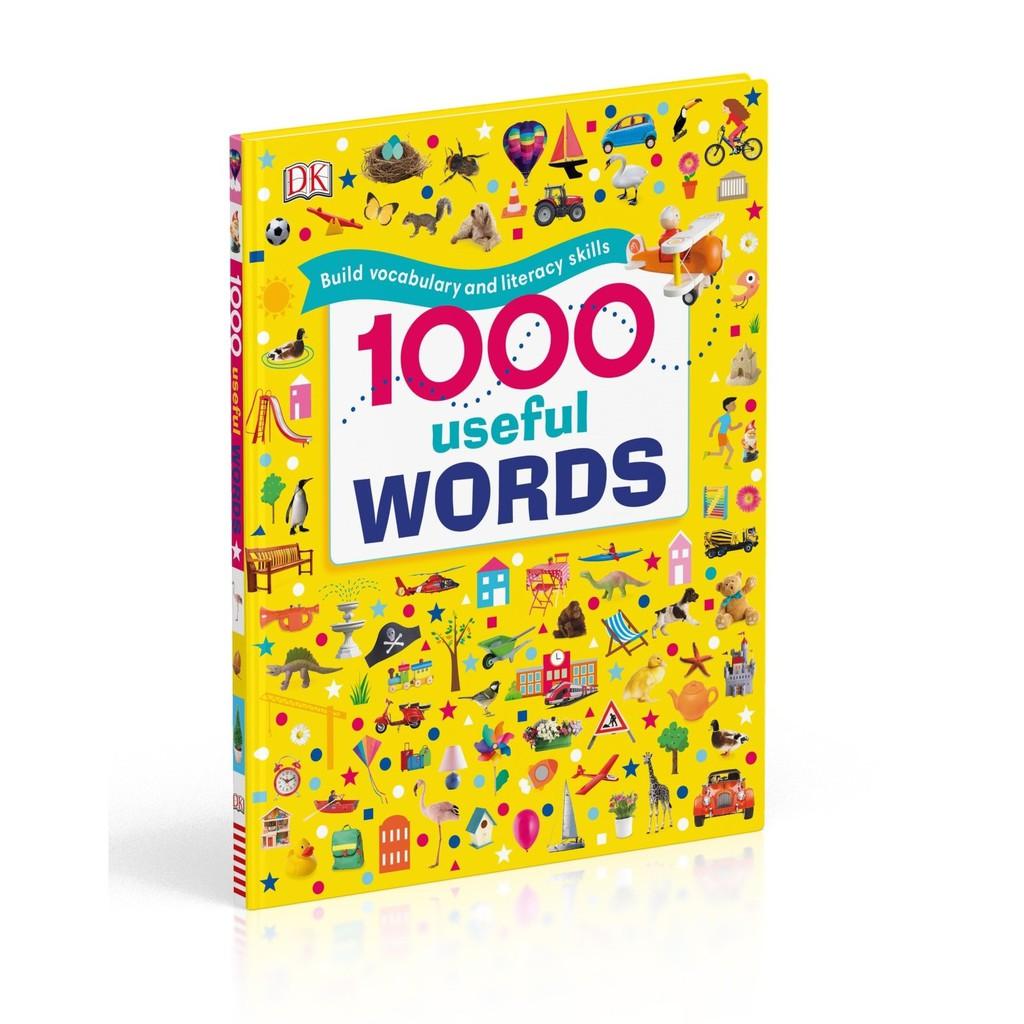 Sách: 1000 USEFUL WORDS - 1000 từ tiếng anh thông dụng cho bé (sách kèm file nghe)