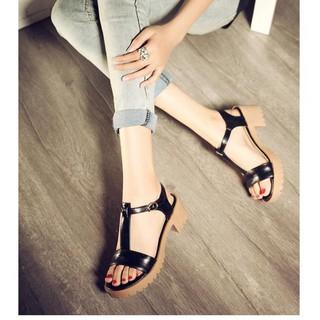 Giày sandal chữ I đế boot - SD-0171