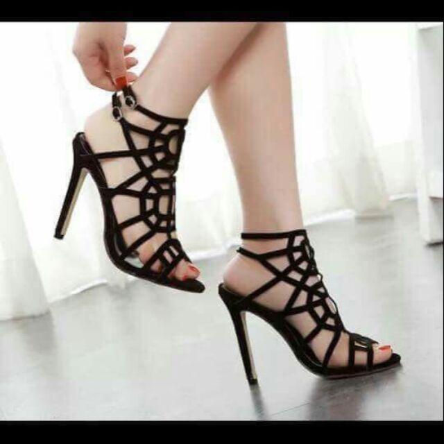 Combo sandal cao gót - dép lê