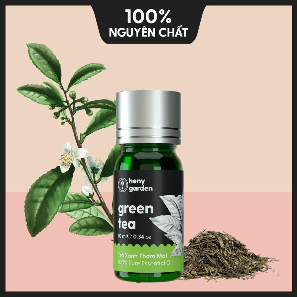 Tinh Dầu Thiên Nhiên Trà Xanh Thơm Mát (Green Tea) – Xông Thơm Phòng – 10ml – [Tặng Thêm 3 Mẫu Thử Với Đơn Hàng Bất Kì]