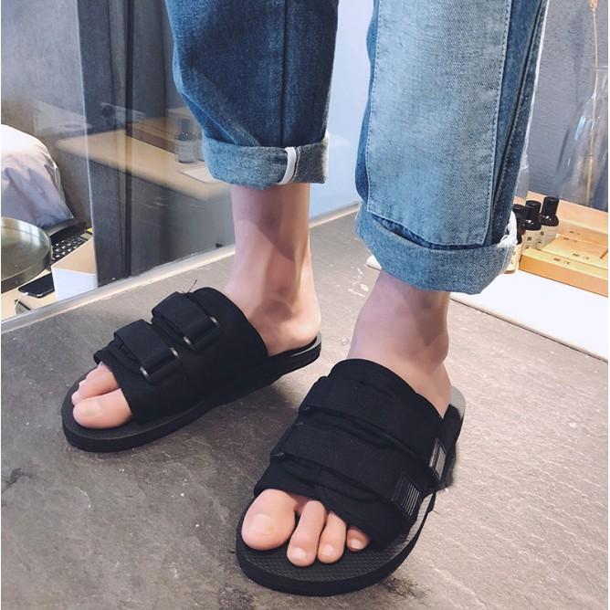 Sandal Nam Hàn Quốc, Dép Quai Ngang Phong Cách