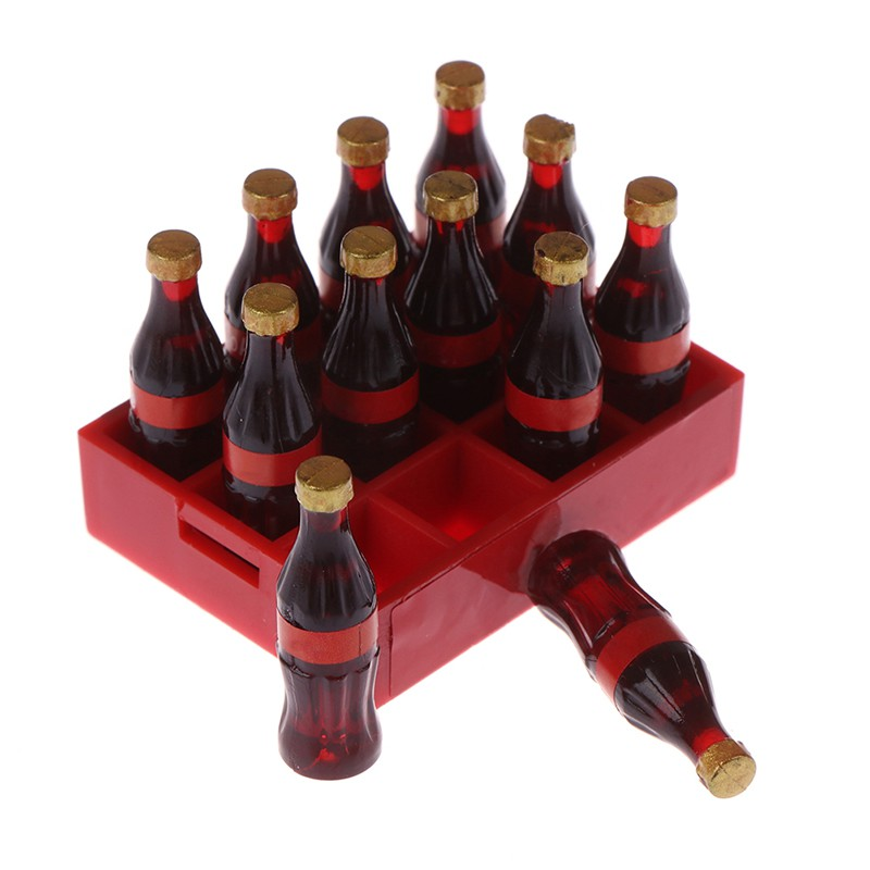 ★ƯU ĐÃI ★A dozen Miniature food model drink Dollhouse Miniature 1:12 Doll Accessories toy