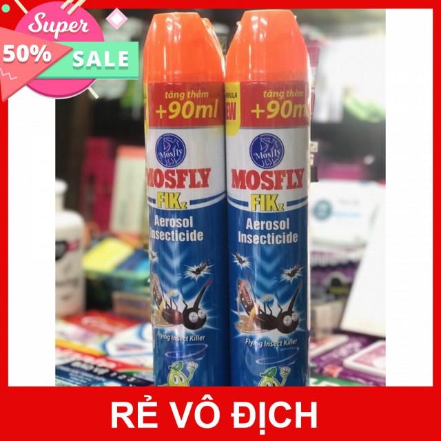 Bình xịt muỗi Mosfly 600ml