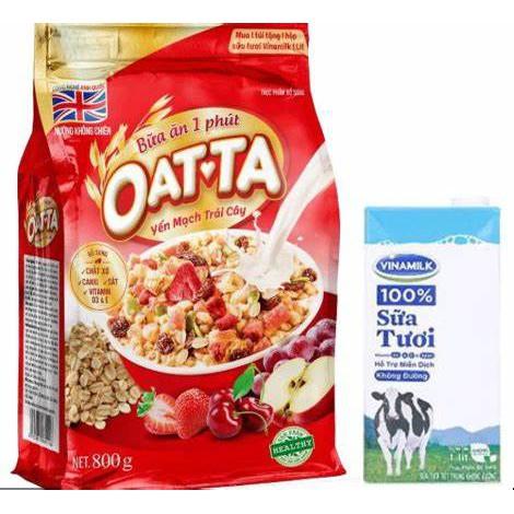 Yến mạch mix hoa quả oat ta date mới nhất loại 1