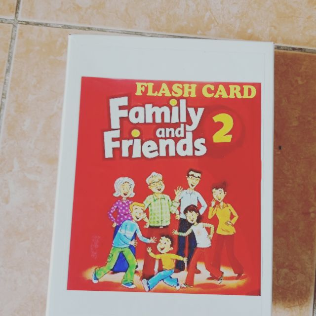 Flashcards Family and friends 2