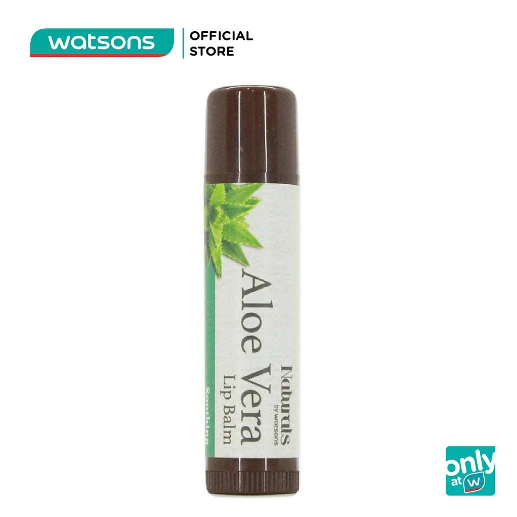 Son Dưỡng Ẩm Naturals By Watsons Aloe Vera Lip Balm Chiết Xuất Từ Lô Hội 4.5g