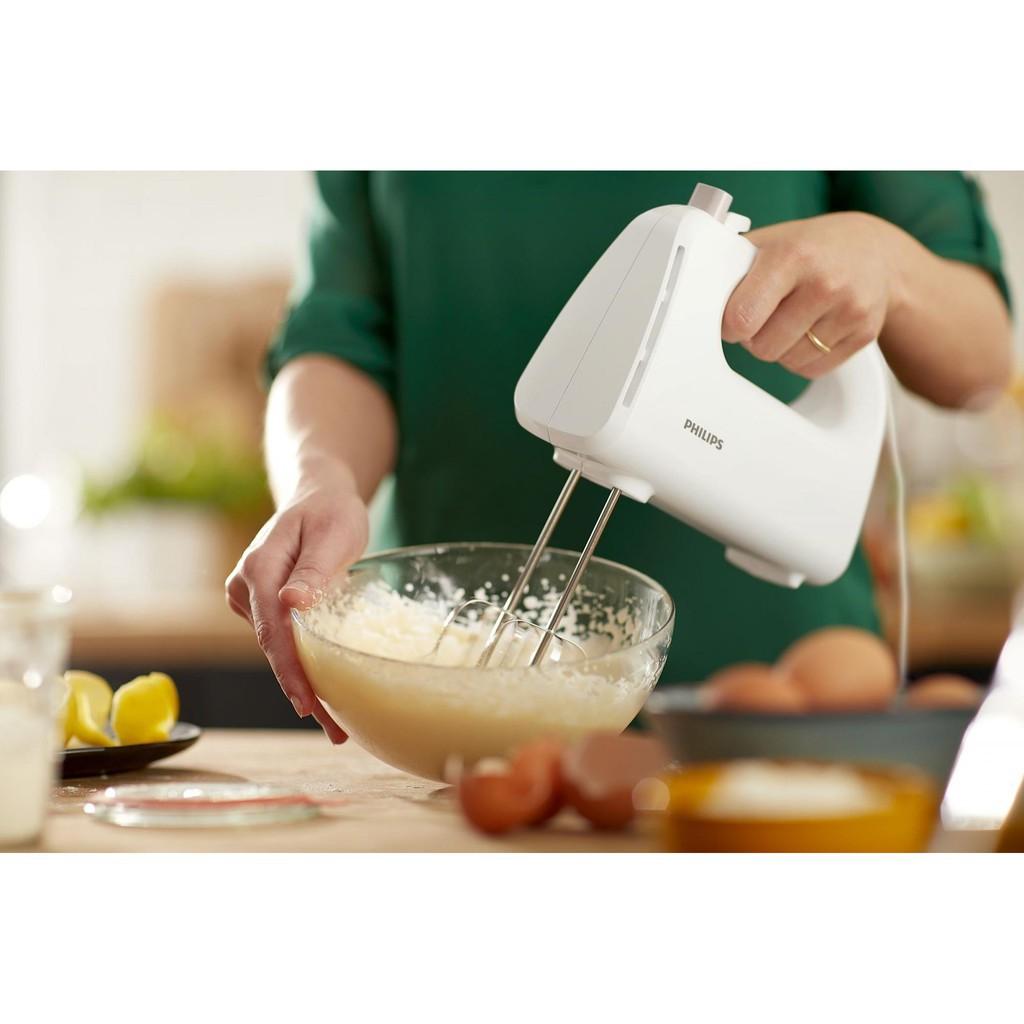 Máy Đánh Trứng Cầm Tay Philips HR3705 - Hàng chính hãng