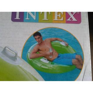 Intex Ghế Dài Màu Xanh Lá Cây Dễ Thương
