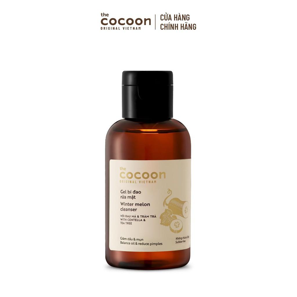 Gel bí đao rửa mặt Cocoon 140ml