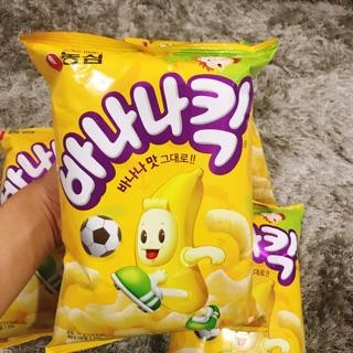 Snack chuối 🍌 thơm ngon Hàn Quốc 🇰🇷
