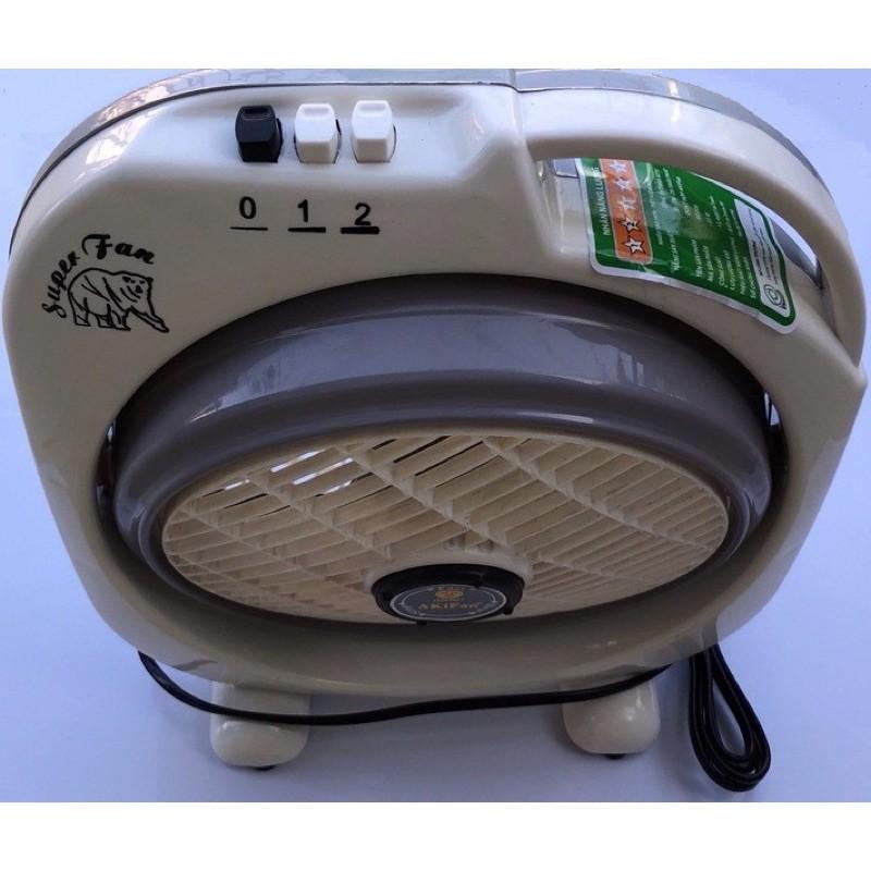 Quạt hộp Akifan BD200 B2 (3 màu: ⚪️🟢) - tiện lợi, nhỏ gọn, mát mẻ