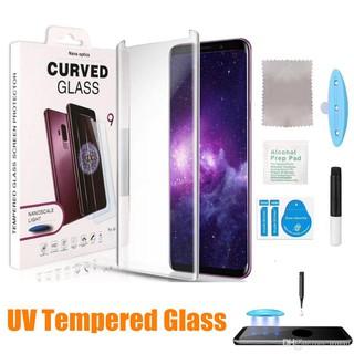 Kính UV full màn hình cho điện thoại SAMSUNG viền cong: Note 10, Note 10 Plus, S10, S10 Plus, Note 8, 9, ….